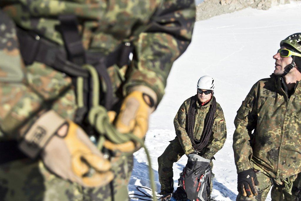 Heeresbergführer - Lehrgang in Chamonix